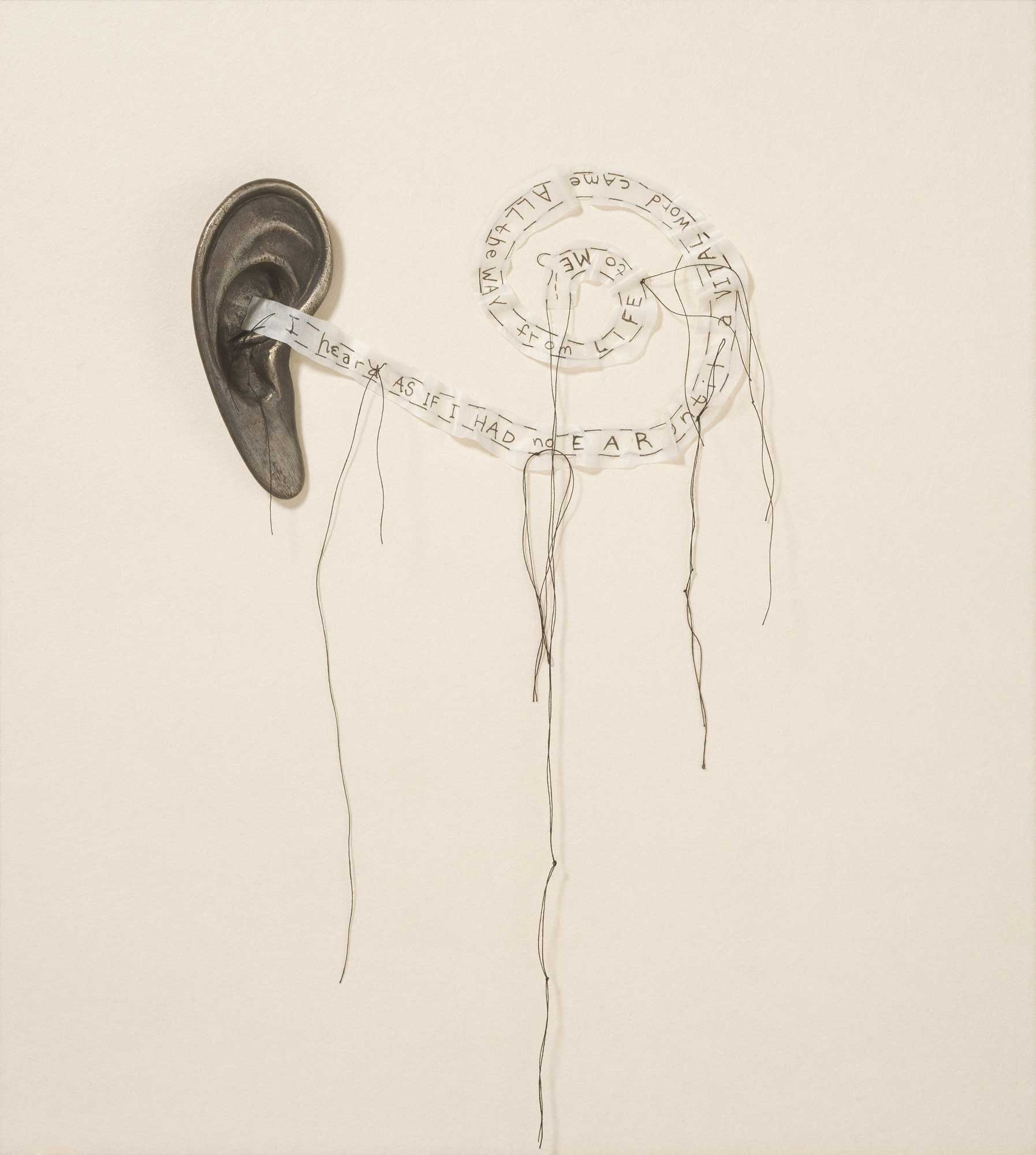Ear Poem by Lesley Dill