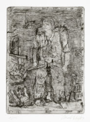 Untitled (hero) by Georg Baselitz at