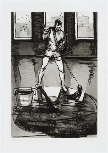 Men At Home: Mopping by Michael Glier