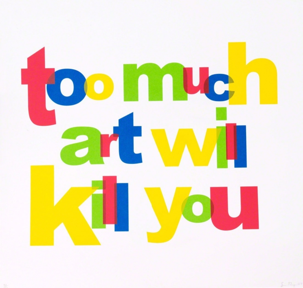 Too Much Art Will Kill You by Simon Thompson