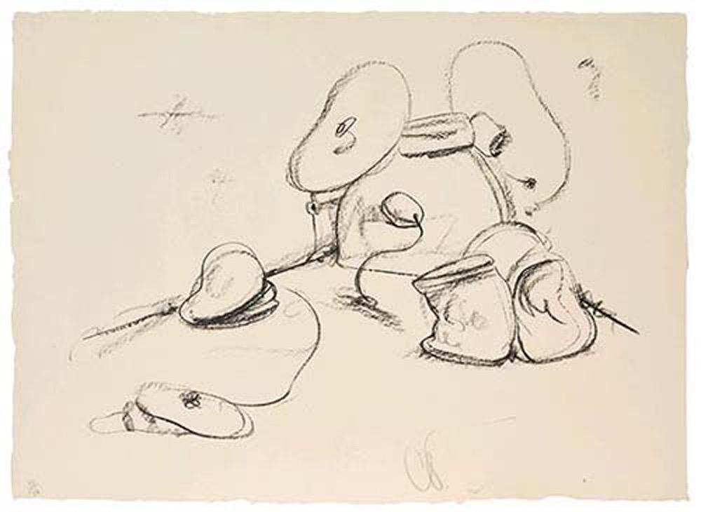 Soft Drum Set by Claes Oldenburg