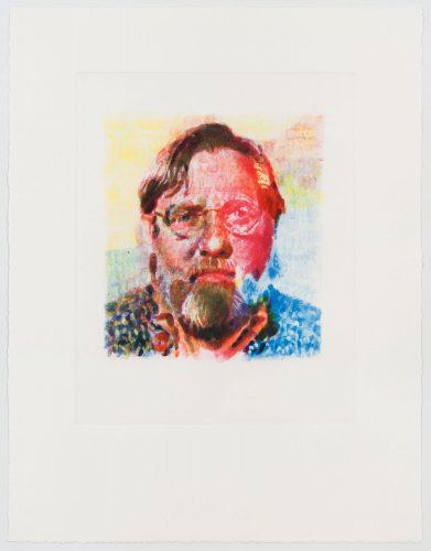 John II by Chuck Close at