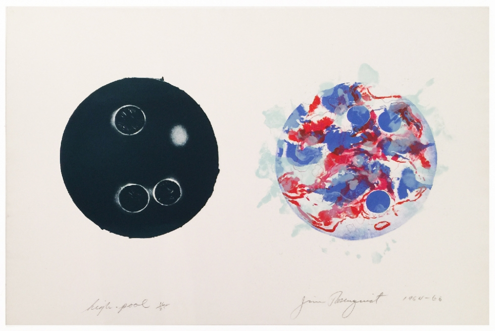 High Pool by James Rosenquist