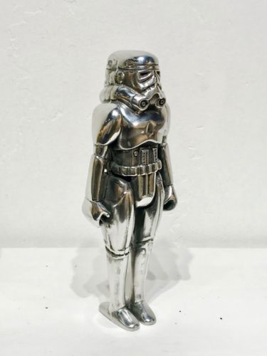 You'll Never See The Back Of Me (Silver) by RYCA at Robert Fontaine Gallery