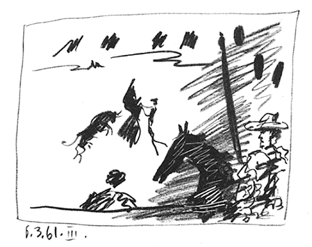 Jeu De La Cape by Pablo Picasso