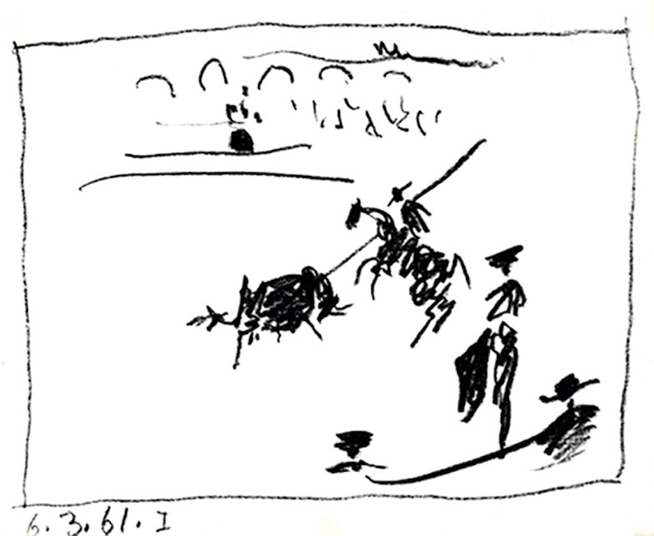 La Pique by Pablo Picasso