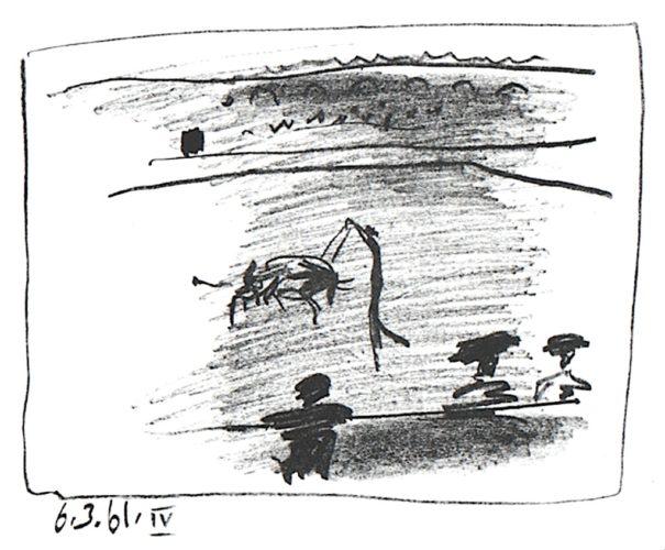 Les Banderillas by Pablo Picasso