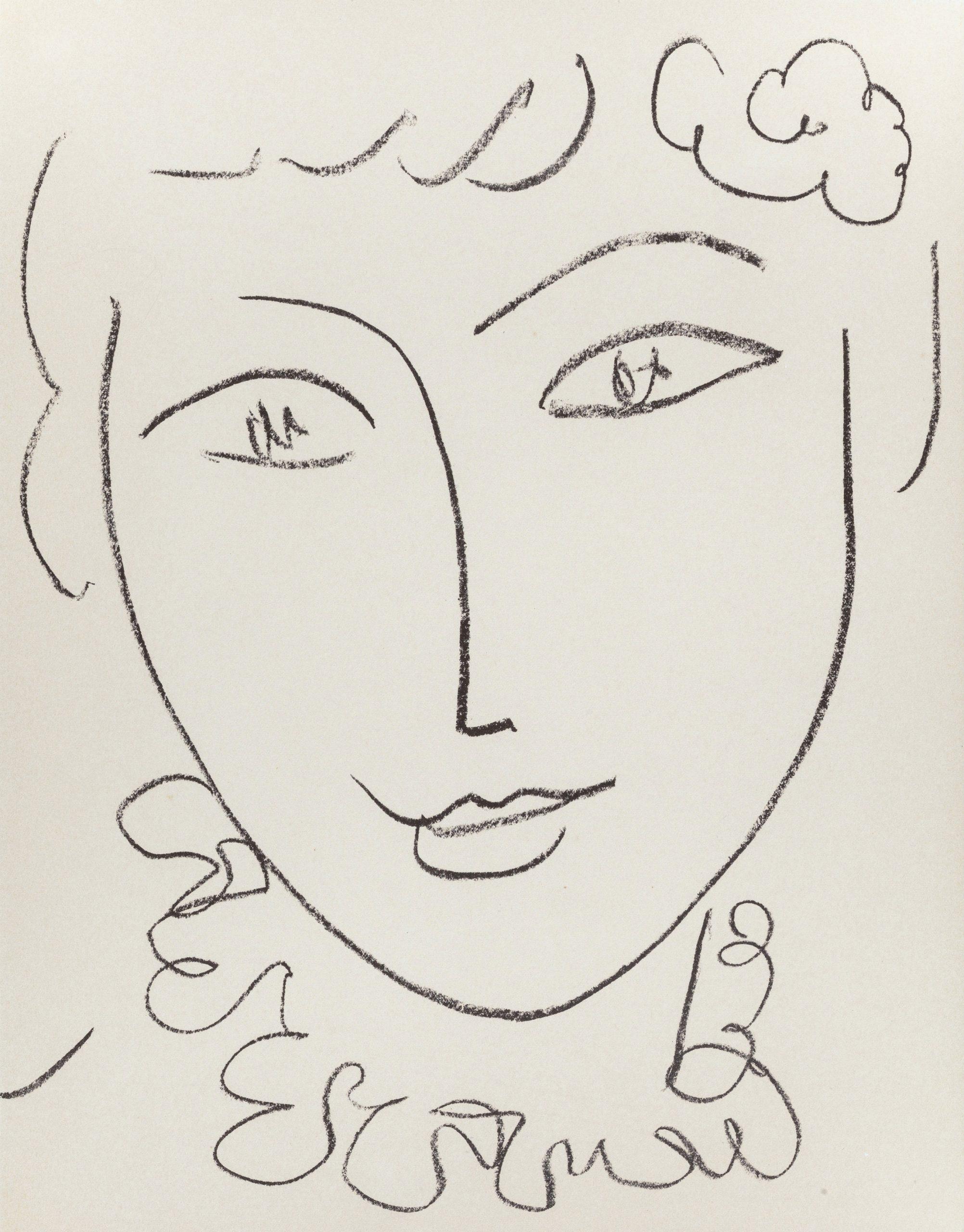 Madame Pompadour by Henri Matisse