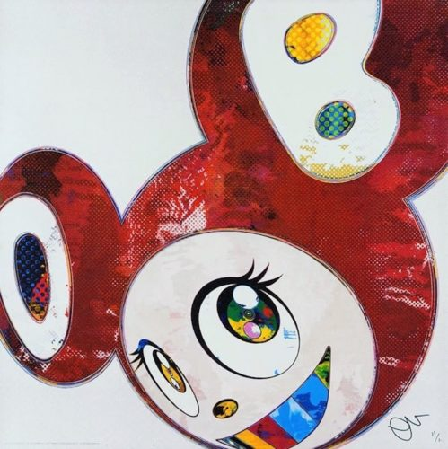 And Then… (red) by Takashi Murakami at Michael Lisi/Contemporary Art