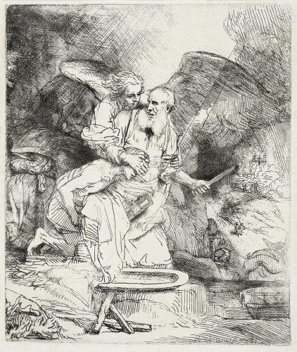 Abraham's Sacrifice by Harmensz van Rijn Rembrandt