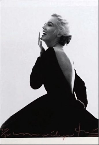 Marilyn: Dior Dress (iii) by Bert Stern at Bert Stern