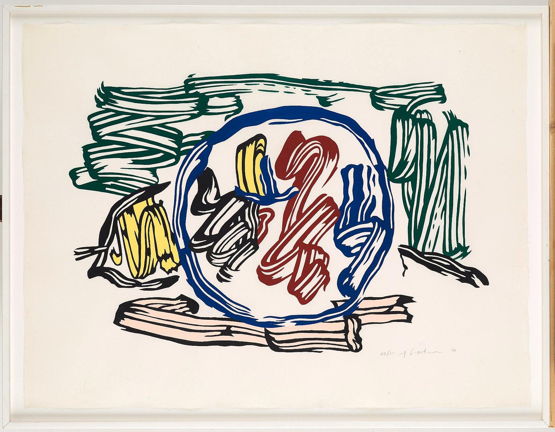 Apple and Lemon 1983 by Roy Lichtenstein