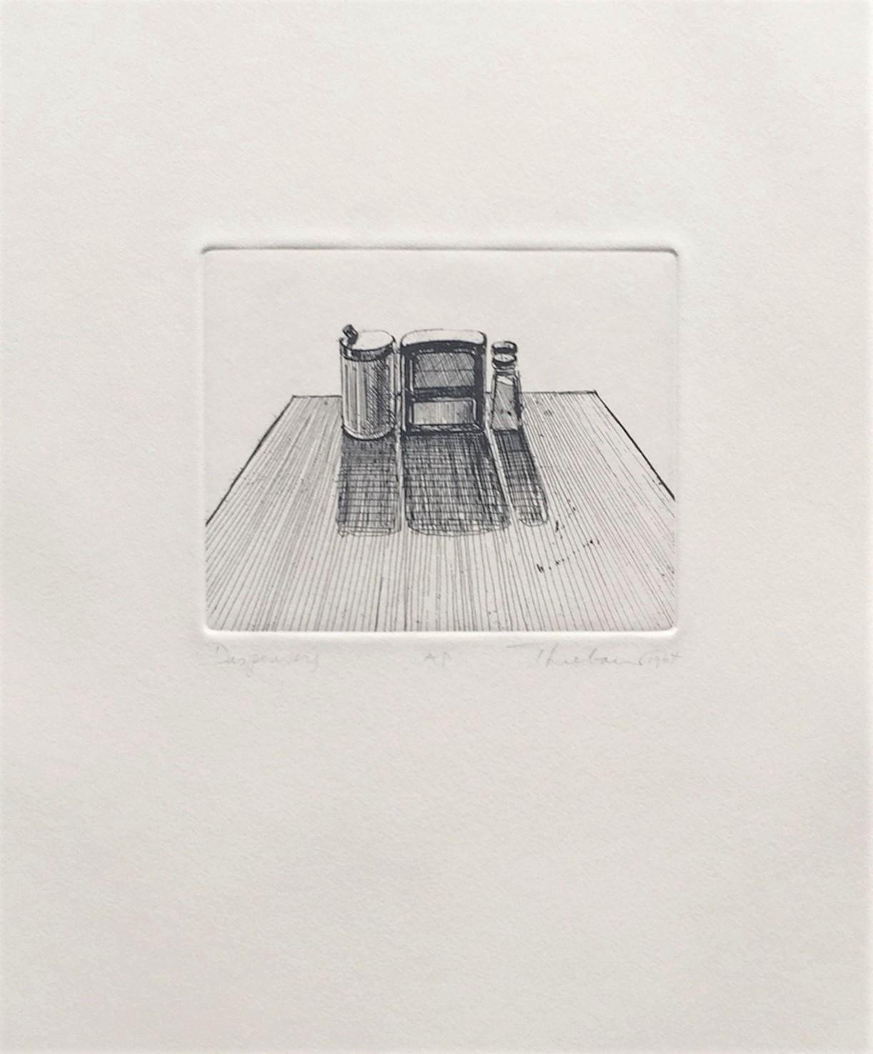 Café Table (Dispensers) by Wayne Thiebaud