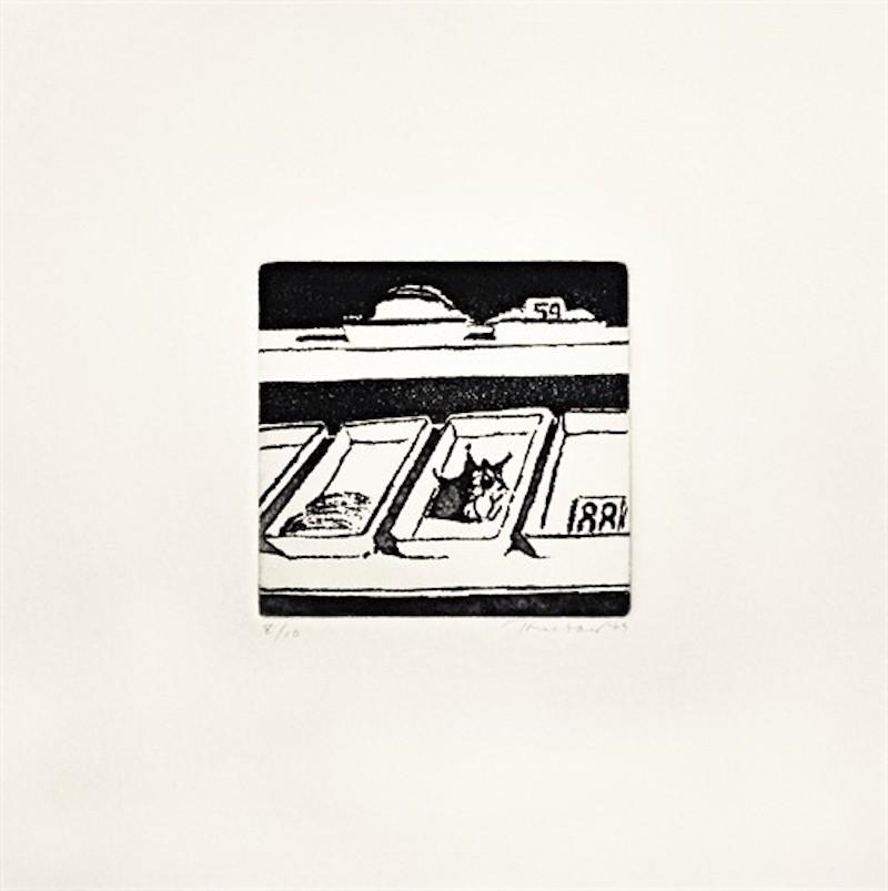 Delicatessen Trays by Wayne Thiebaud
