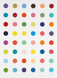 Oleoylsarcosine by Damien Hirst at Lougher Contemporary
