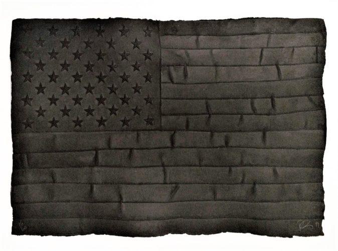 Black Flag by Robert Longo at Robert Longo