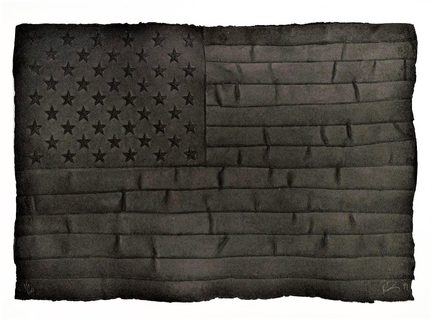 Black Flag by Robert Longo