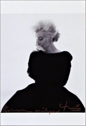 Marilyn: Dior Dress by Bert Stern at Bert Stern