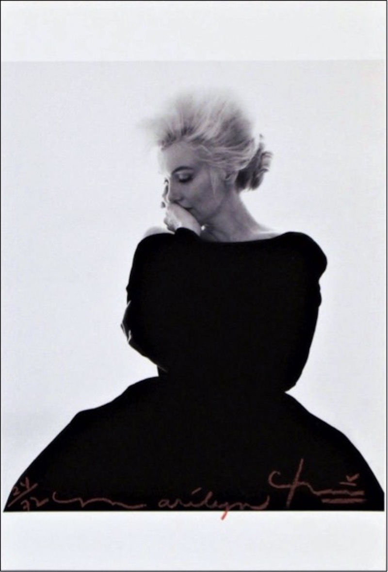 Marilyn: Dior Dress by Bert Stern