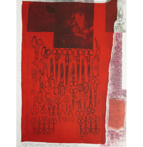 Most Visible Parts Of The Sea by Robert Rauschenberg