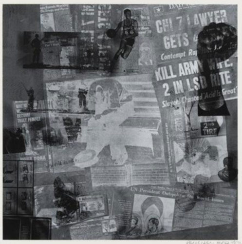 Surface Series From Currents by Robert Rauschenberg