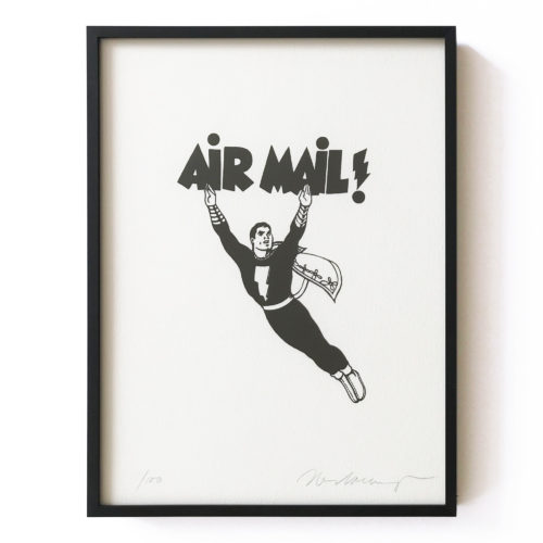 Air Mail by Mel Ramos