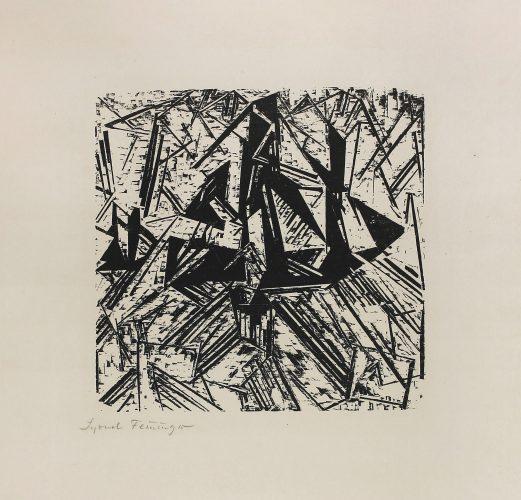 Barke Und Brigg Auf See (segler) by Lyonel Feininger at Galerie Hochdruck