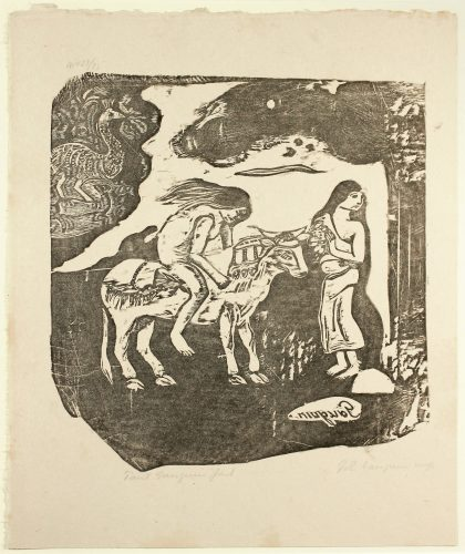 L'enlèvement D'europe (the Abduction Of Europa) by Paul Gauguin