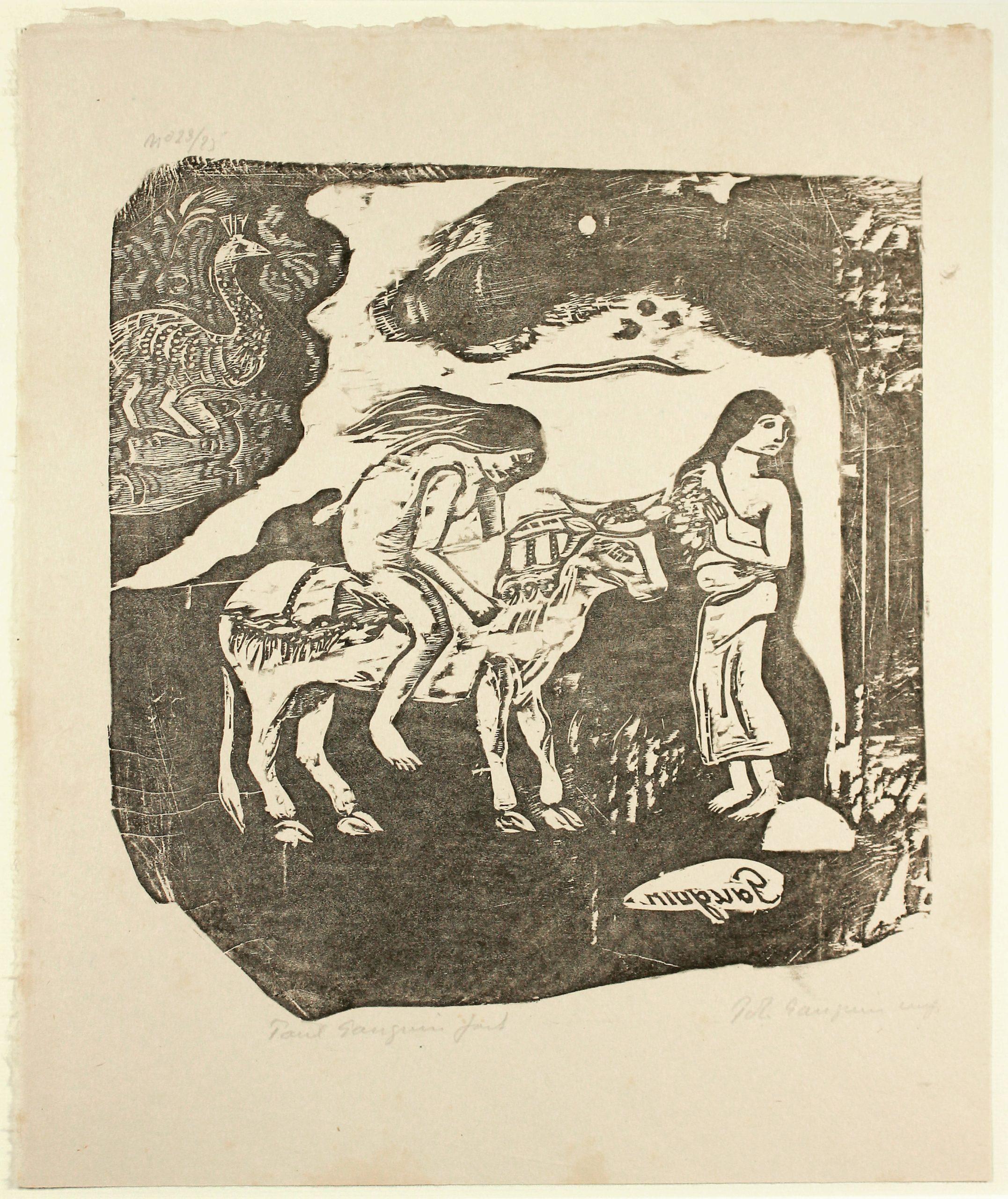 L'enlèvement D'europe (the Abduction Of Europa) by Paul Gauguin