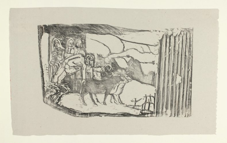 Le Calvaire Breton (breton Calvary) by Paul Gauguin at