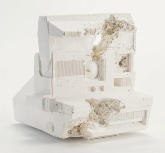 Future Relic 06 (polaroid Camera) by Daniel Arsham