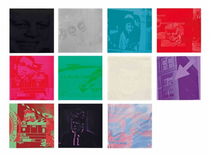 Portfolio of eleven screenprints with screenprint cover by Andy Warhol at Andy Warhol
