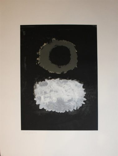 Black Field by Adolph Gottlieb at