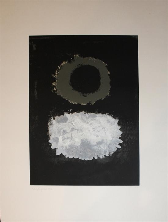 Black Field by Adolph Gottlieb