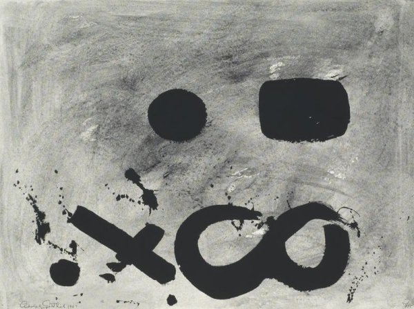 Figure 8 by Adolph Gottlieb at