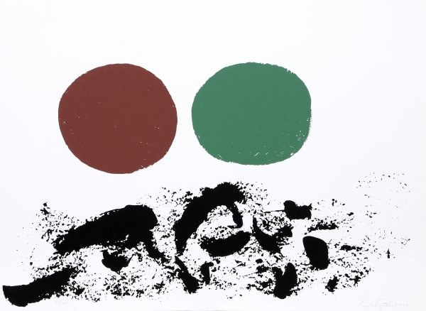 Flurry by Adolph Gottlieb at