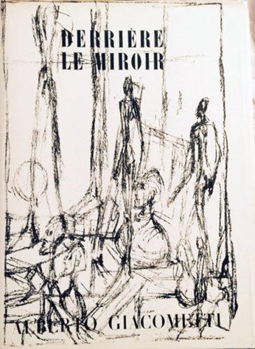 Derriere Le Miroir- Alberto Giacometti by Alberto Giacometti