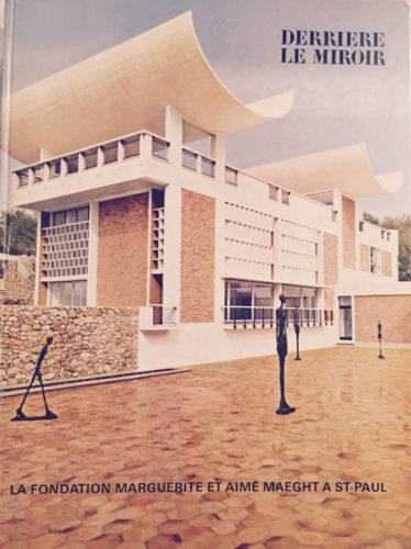 Derriere Le Miroir- La Foundation by Alberto Giacometti