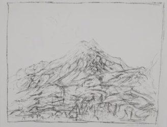 Montagne A Maloja by Alberto Giacometti at