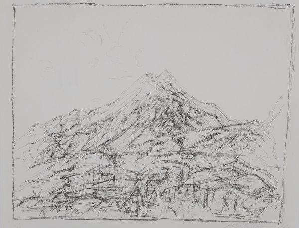 Montagne A Maloja by Alberto Giacometti