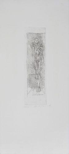 Nu De Face by Alberto Giacometti