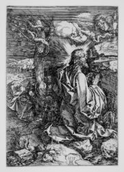 Christ In The Garden Of Olives by Albrecht Durer at Stanza del Borgo (IFPDA)