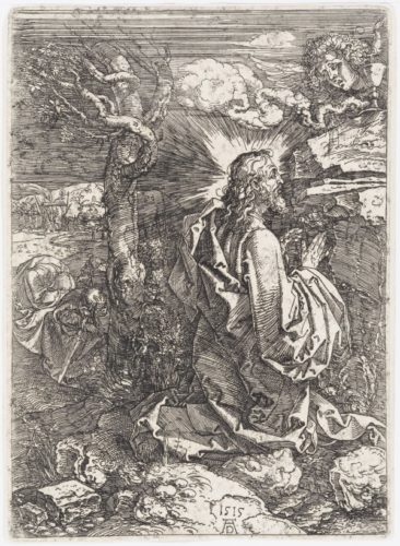 The Agony In The Garden by Albrecht Durer at