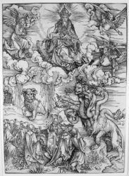 Beast With Two Horns Like A Lamb by Albrecht Durer at