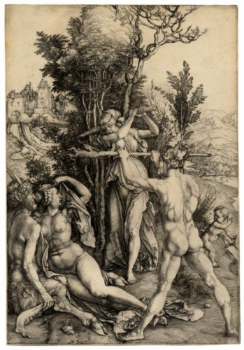 Hercules by Albrecht Durer at