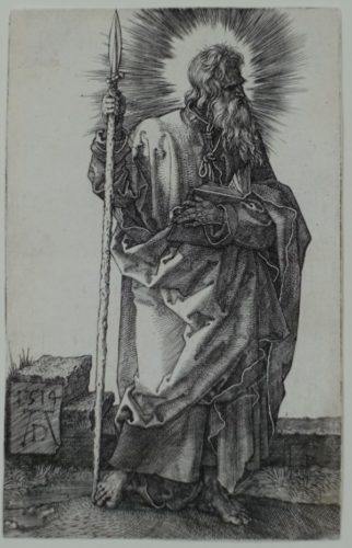 St. Thomas by Albrecht Durer
