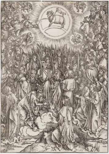 The Adoration Of The Lamb by Albrecht Durer at