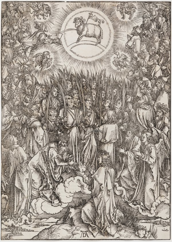The Adoration Of The Lamb by Albrecht Durer
