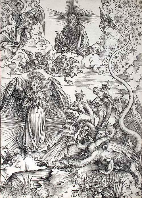 The Apocalyptic Woman by Albrecht Durer
