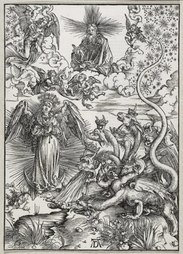The Apocalyptic Woman by Albrecht Durer at